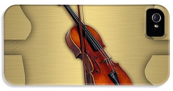 Violin Collection IPhone 5 Case by Marvin Blaine