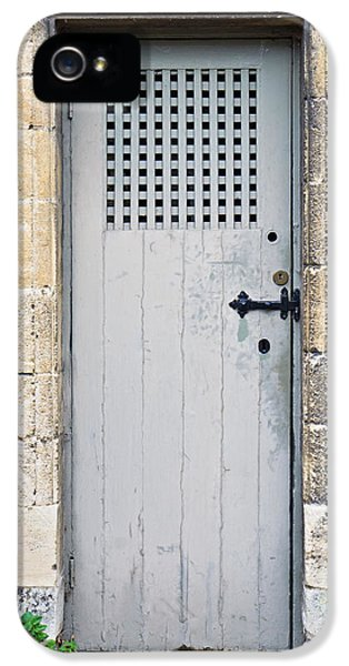 Dungeon iPhone 5 Case - Old Door by Tom Gowanlock