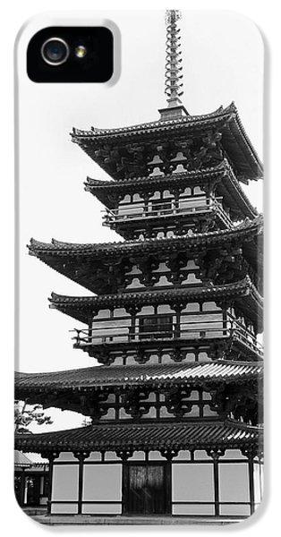 8th Century Pagoda -- Nara Japan IPhone 5 Case