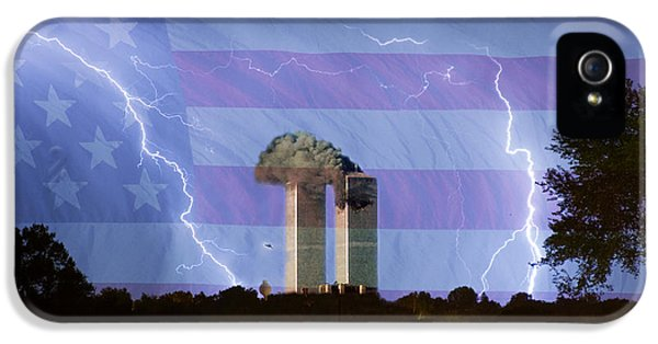 9-11 We Will Never Forget 2011 Poster IPhone 5 Case