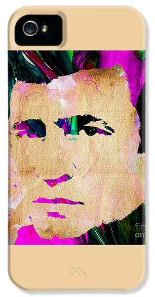 Johnny Cash Collection IPhone 5 / 5s Case by Marvin Blaine