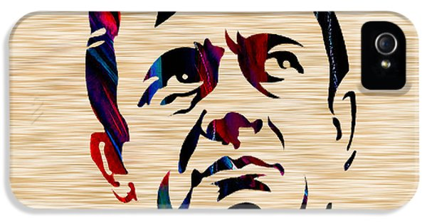 Johnny Cash IPhone 5 Case by Marvin Blaine