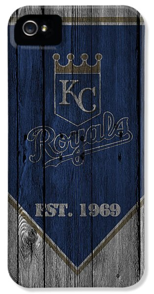 Kansas City Royals IPhone 5 Case by Joe Hamilton