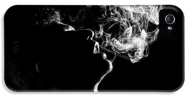 Breathe iPhone 5 Case - N/t by Paulo Medeiros
