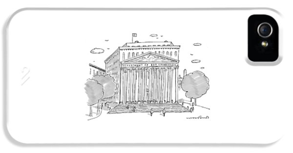 A Building In Washington Dc Is Shown IPhone 5 Case