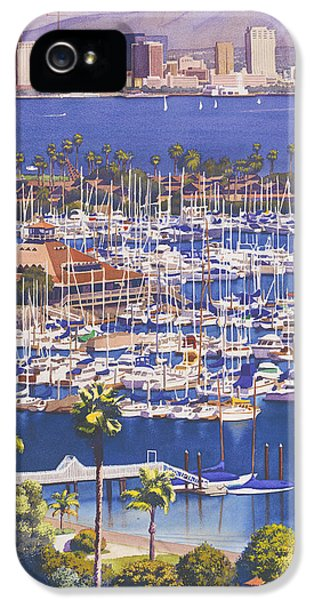 A Clear Day In San Diego IPhone 5 Case by Mary Helmreich