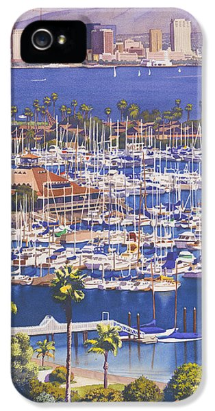 City Scenes iPhone 5 Case - A Clear Day In San Diego by Mary Helmreich