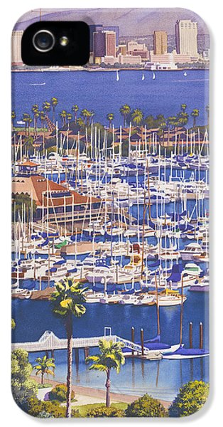 A Clear Day In San Diego IPhone 5 / 5s Case by Mary Helmreich