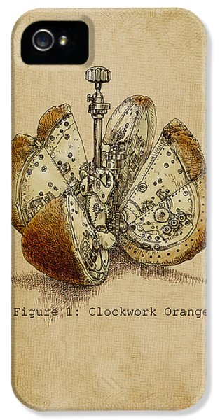 A Clockwork Orange IPhone 5 Case by Eric Fan
