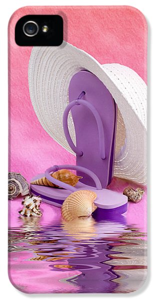 A Day At The Beach Still Life IPhone 5 Case