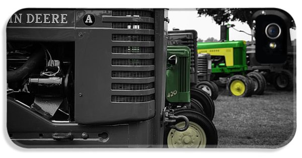 Oliver Tractor iPhone 5 Case - A Deere Stands Out by Brian Druggan