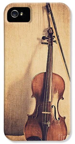 Violin iPhone 5 Case - A Fiddle by Emily Kay