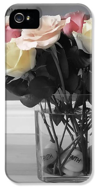 A Foundation Of Love IPhone 5 Case by Cathy  Beharriell