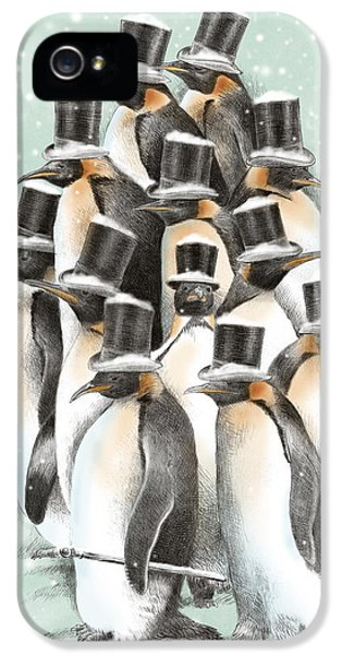 A Gathering In The Snow IPhone 5 Case by Eric Fan