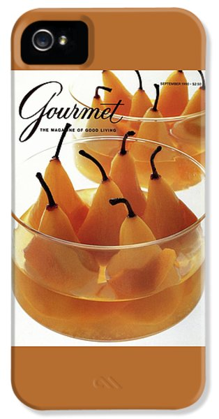 A Gourmet Cover Of Baked Pears IPhone 5 Case
