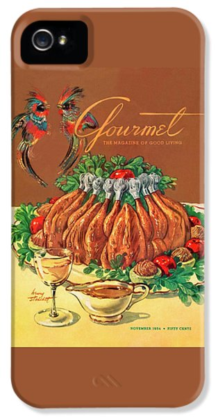A Gourmet Cover Of Chicken IPhone 5 Case by Henry Stahlhut