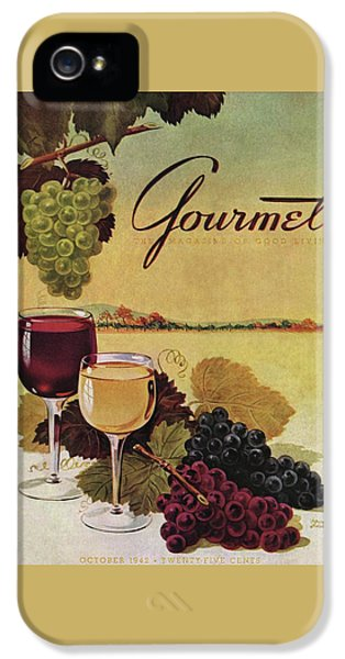 A Gourmet Cover Of Wine IPhone 5 Case