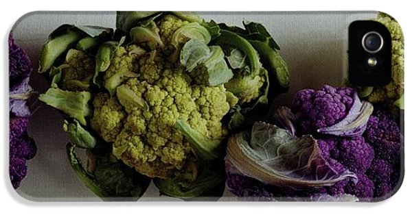 A Group Of Cauliflower Heads IPhone 5 Case by Romulo Yanes