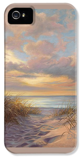 A Moment Of Tranquility IPhone 5 Case by Lucie Bilodeau