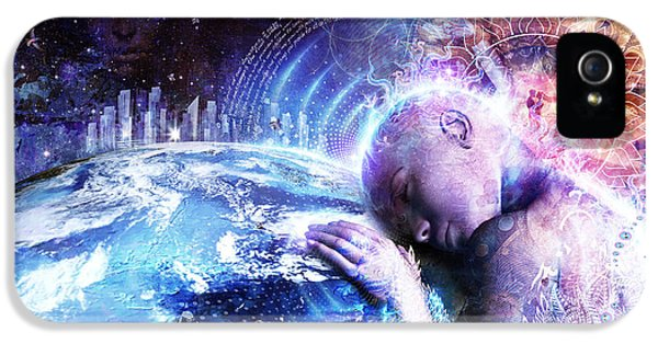 A Prayer For The Earth IPhone 5 Case by Cameron Gray