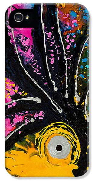 A Rare Bird - Tropical Parrot Art By Sharon Cummings IPhone 5 / 5s Case by Sharon Cummings