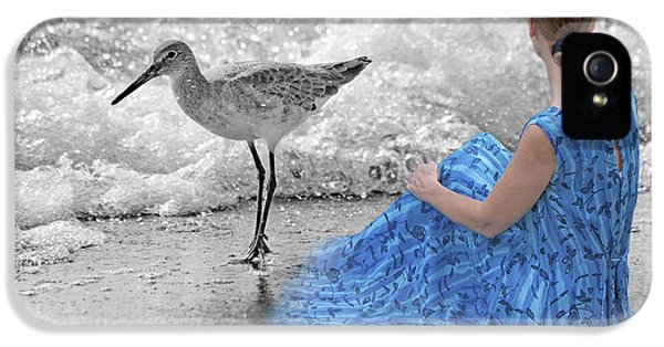 Sandpiper iPhone 5 Case - A Sandpiper's Dream by Betsy Knapp