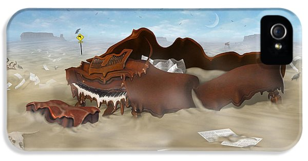 A Slow Death In Piano Valley - Panoramic IPhone 5 Case by Mike McGlothlen