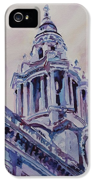 Wren iPhone 5 Case - A Spire Of Saint Paul's by Jenny Armitage
