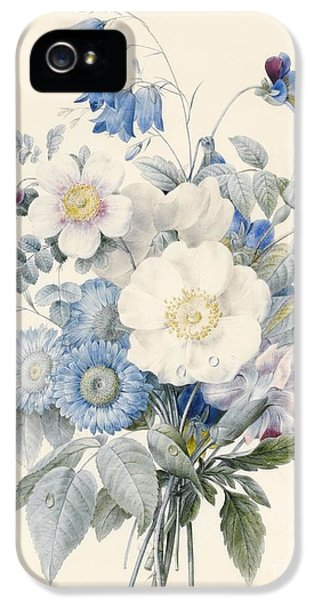 A Spray Of Summer Flowers IPhone 5 Case by Louise D Orleans