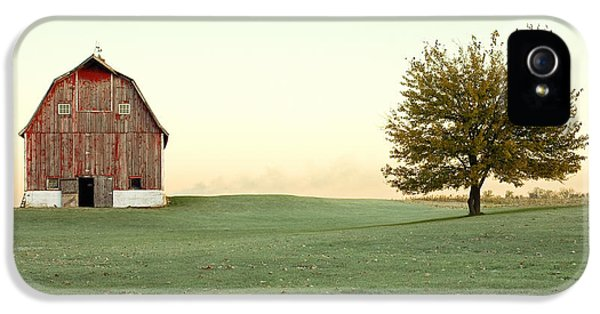 Rural Scenes iPhone 5 Case - A Wisconsin Postcard by Todd Klassy