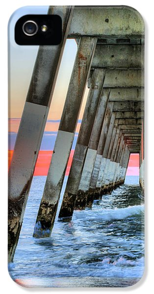 A Wrightsville Beach Morning IPhone 5 Case by JC Findley