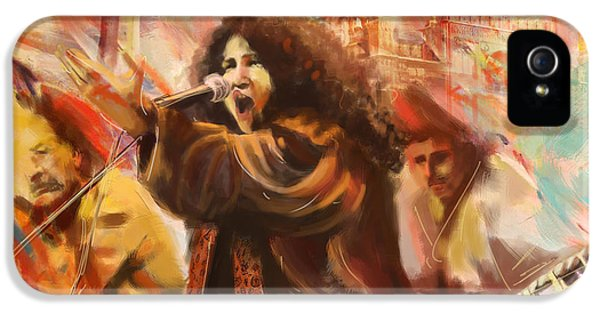 Abida Parveen IPhone 5 Case by Catf