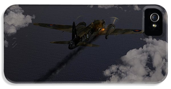 Above And Beyond - Jimmy Ward Vc IPhone 5 Case by Gary Eason