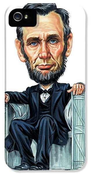 Abraham Lincoln IPhone 5 Case by Art