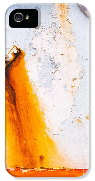 IPhone 5 Case featuring the photograph Abstract Boat Detail by Silvia Ganora
