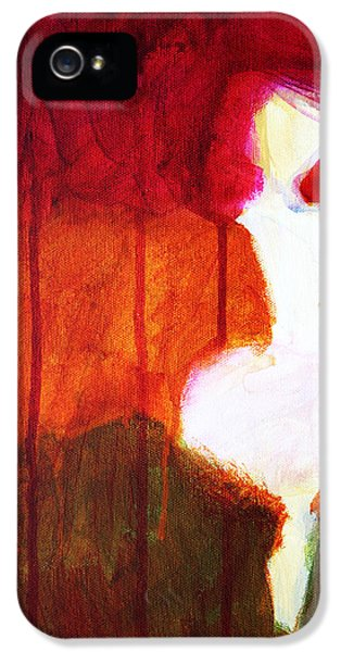 Abstract Ghost Figure No. 2 IPhone 5 Case