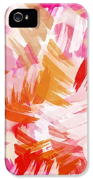 Abstract Paint Pattern IPhone 5 / 5s Case by Christina Rollo
