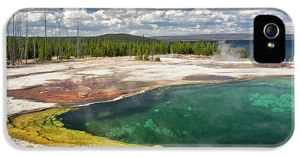 Abyss Pool, West Thumb Geyser Basin IPhone 5 Case