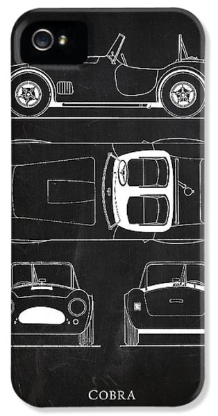 Ac Cobra IPhone 5 / 5s Case by Mark Rogan
