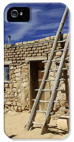 Acoma Pueblo Adobe Homes 4 IPhone 5 Case by Mike McGlothlen