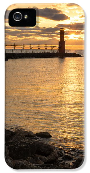 Across The Harbor IPhone 5 Case