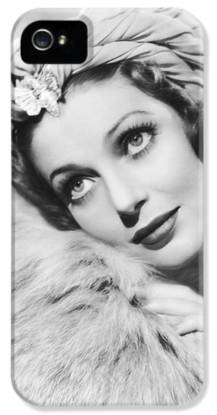 Actress Loretta Young IPhone 5 Case