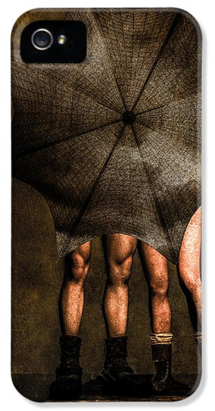 Adam And Eve IPhone 5 Case by Bob Orsillo