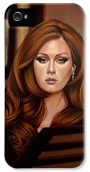 Rhythm And Blues iPhone 5 Case - Adele by Paul Meijering