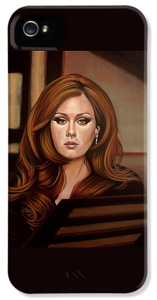 Adele IPhone 5 Case by Paul Meijering
