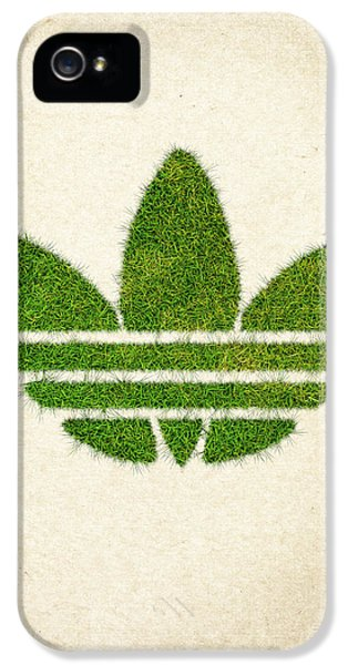 Adidas Grass Logo IPhone 5 Case by Aged Pixel
