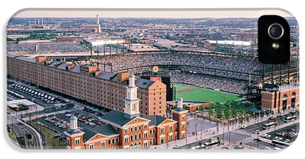 Aerial View Of A Baseball Field IPhone 5 Case