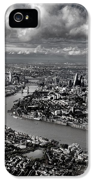 Aerial View Of London 4 IPhone 5 Case