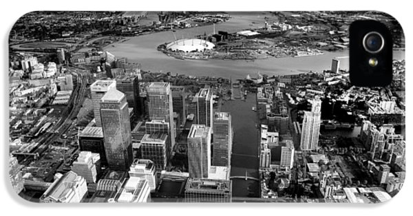 Aerial View Of London 5 IPhone 5 Case by Mark Rogan