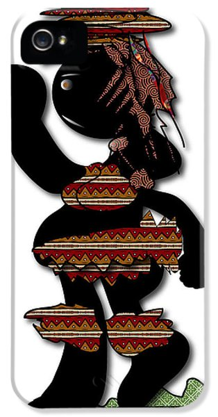 IPhone 5 Case featuring the digital art African Dancer 7 by Marvin Blaine